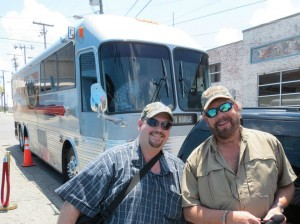 SFCM President Mike Carroll and Hank Williams Jr.