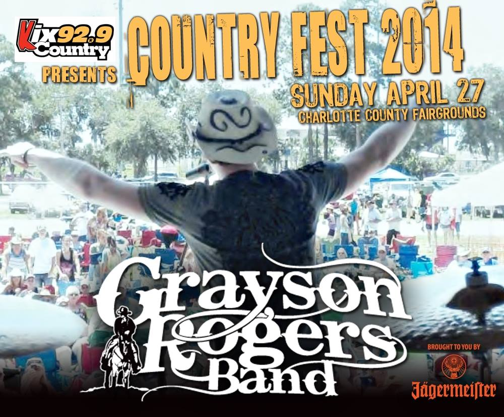 grayson rogers band, countryfest