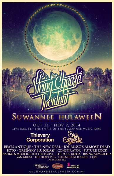 2014 string cheese incident poster