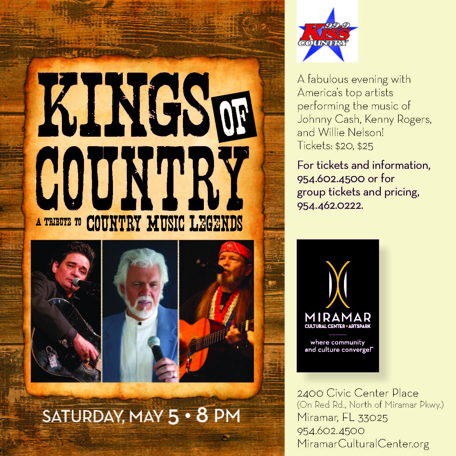 Kings Of Country A Tribute To Country Music Legends