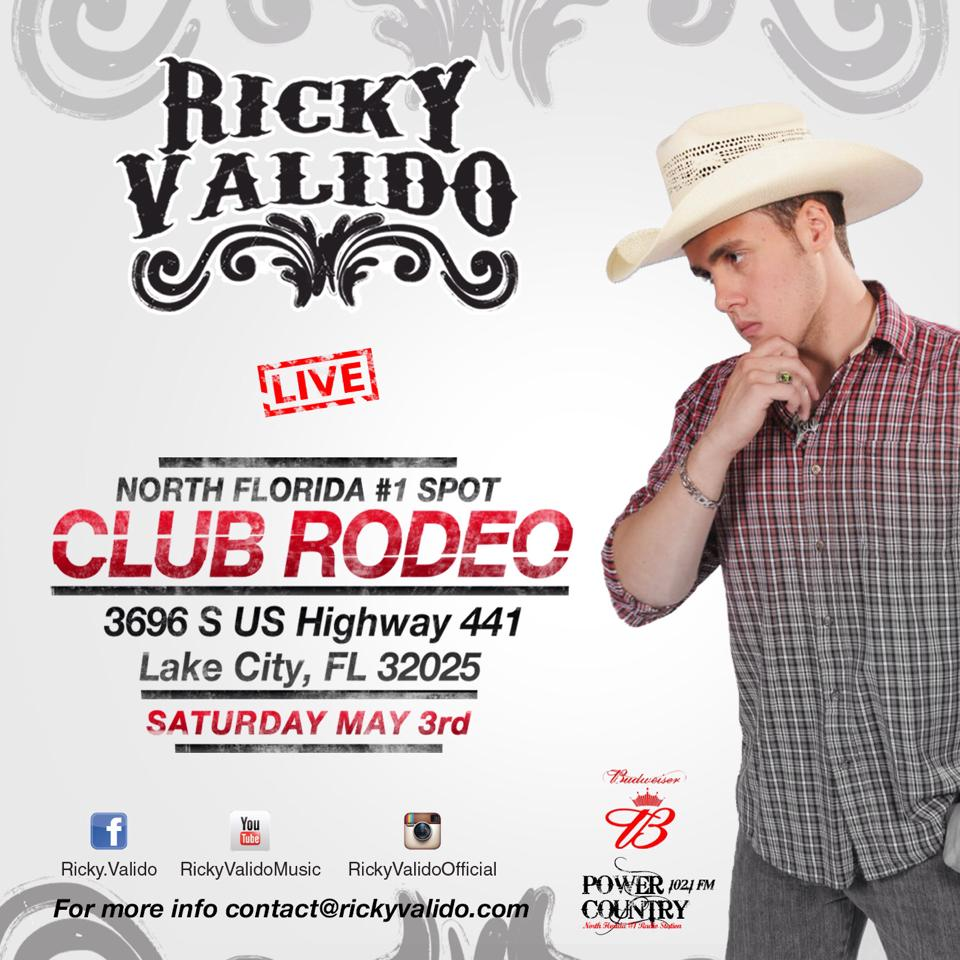 Country Music City Stock Photos Country Music City Stock: Ricky Valido To Play At Club Rodeo In Lake City